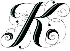 Alphabet 1: K | Daily Drop Cap
