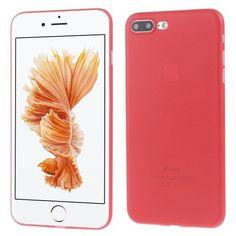 Coque Ultra Fine Rouge pour iPhone 7 Plus