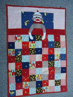 Wyatt's Quilt... Called Naptime Monkey
