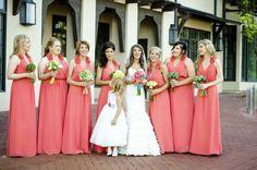 Coral | Bridesmaids Dresses