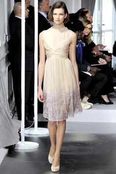 Christian Dior Spring 2012 Couture Fashion Show - Karlie Kloss
