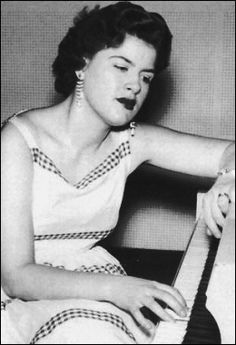 Patsy Cline (1932-1963)...first female solo artist inducted into the Country Music Hall of Fame (1973)