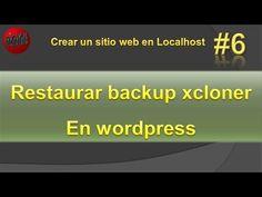 Restaurar Backup con  xcloner en wordpress. Copias de seguridad wordpres...