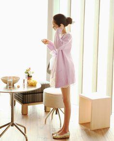 Korea feminine clothing Store [SOIR] Cream Cardigan   / Size :  FREE / Price : 31.36USD #korea #fashion #style #fashionshop #soir #feminine  #special  #Ivory #lime #mint #ruby #pink #blue #cardigan