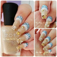 Nail Art Marathon - Seashells