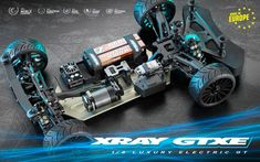 XRAY GTXE 1/8 Electric GT Kit