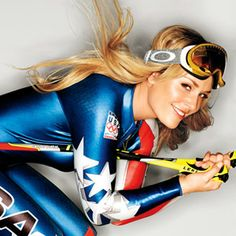 Lindsey Vonn's Tips for Being Fearless: What's the point in being afraid? I've crashed a million times. If you go around being afraid, you're never going to enjoy life. You have only one chance, so you've got to have fun.  #SELFmagazine