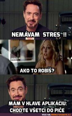 Nemívám stres