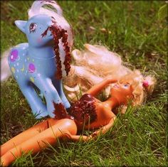 My Little Pony brings Barbie over to the dark side.