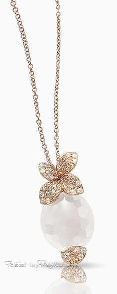 Regilla ⚜ Pasquale Bruni Gold Necklace, Pendant Necklace, Pearl And Lace, Friends Are Like, Pretty Necklaces, Pink Stone, Jewelry Trends, Opal, Bangles