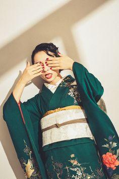 Furisode Kimono, Yukata, Folk Costume, Costumes, Fantasy Dress, Aiko, Japanese Culture, Asian Style, Drawing People