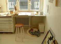 studio space = useful long thin drawers