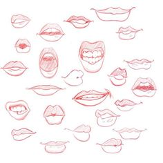 Drawing Lips Related