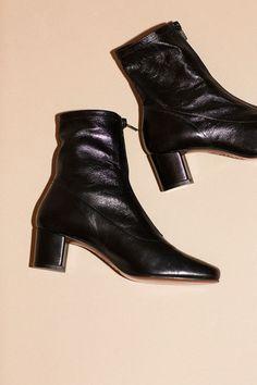 By Far Boots - Black Neva Ankle Boot | BONA DRAG