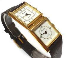 Reloj pulsera mujer THERMIDOR QUARTZ Original Reloj doble Nuevo 1f9584ba536e