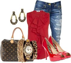 """""""boyfriend's jeans 2"""" by hope-houston ❤ liked on Polyvore"""