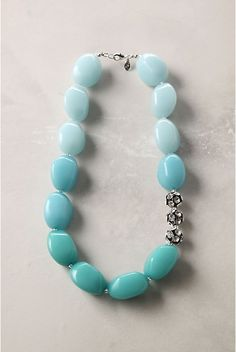 Anthropologie pebble necklace. #anthropologie