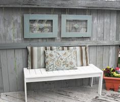 Home Frosting: Patio Decor...Pretty Up a Fence
