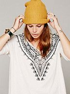 Free People We The Free Sibela Tee, $58.00