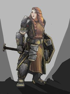 newest submissions : ReasonableFantasy Female dwarf fighter human Character Design Inspiration, Dungeons And Dragons Characters, Fantasy Races, Character Design, Character Inspiration, Character Portraits, Fantasy Dwarf, Fantasy Inspiration