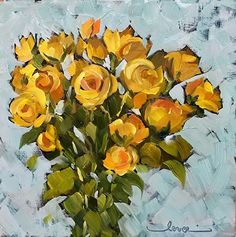 Yellow Bunch of Roses