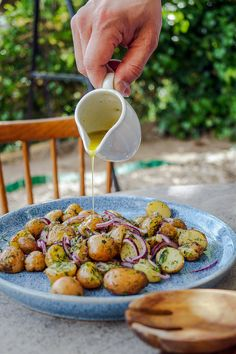 Greek Recipes, Light Recipes, Vegan Recipes, Cooking Recipes, Speed Foods, Potato Recipes, Delish, Side Dishes, Bacon