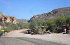 Apache Trail - the beginning from Tortilla Flats