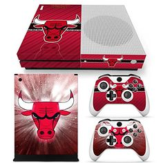 FriendlyTomato Xbox One S Console Controller and Kinect Skin Set  NBA  XboxOne Vinyl *** Visit the image link more details. Note:It is affiliate link to Amazon.