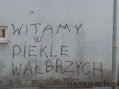 Wałbrzyskie piekło - graffiti Wałbrzych #graffiti #Wałbrzych #graffitiWałbrzych