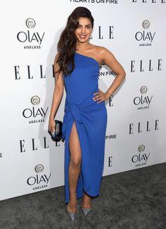 Priyanka Chopra à la Soirée Elle Women in Hollywood                                                                                                                                                                                 More