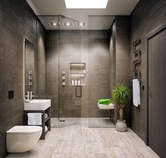 Modern Bathrooms In Small Spaces   Decor10