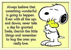 Snoopy's Words of Wisdom.