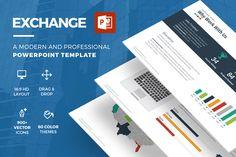Exchange Powerpoint Template by Slidedizer on Creative Market