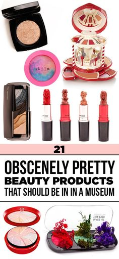 21 Obscenely Pretty Beauty Products That Should Be In A Museum  Just think of this list as my gift registry for all future holidays ;)