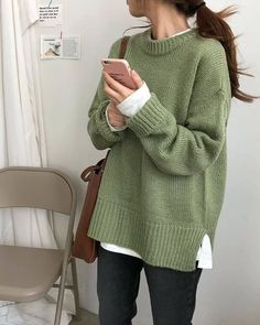 Korean Outfits, Mode Outfits, Fall Outfits, Korean Winter Fashion Outfits, Miami Outfits, Mode Kpop, Korean Girl Fashion, Korean Fashion School, Style Fashion