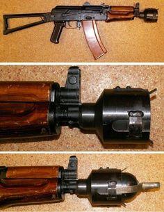 AK-74u grenade launcher