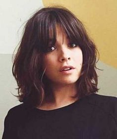 47. Bob Hairstyles with Bangs