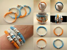 AnotherCountry BeadWorks: Summer Bangles & a Wall of Turquoise