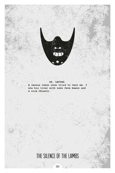 Des films illustrés de manière minimaliste par des citations