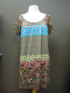 Uncle Frank Retro Dress. Great to just slip on and run out the door lookin fab!   $118