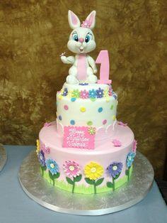 34 Brilliant Picture of Bunny Birthday Cake . Bunny Birthday Cake, Toddler Birthday Cakes, Easter Birthday Party, Easter Bunny Cake, 3rd Birthday Cakes, Bunny Cakes, Birthday Ideas, Happy Birthday, Cake Story