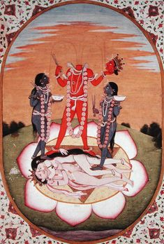 Chinanamasta. The Tantric severed-head goddess, who feeds attendant dakinis with her blood.One of the ten Mahavidyas, powerful aspects of divine femininity.
