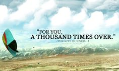"""quote-book: """" """"The Kite Runner"""" by Khaled Hosseini. original image // submitted via rinnyy. """" my favorite quote of all time. Trauma, Kite Quotes, The Kite Runner, Khaled Hosseini, Books Everyone Should Read, Tumblr, Word Pictures, Paperback Books, Great Books"""