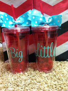 Big Little Tumblers