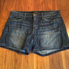 "Joe's Jeans Trudy Shorts Denim shorts. 5"" inseam. 8"" across inseam. Joe's Jeans Shorts Jean Shorts"