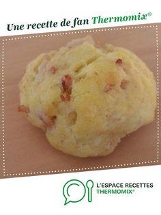 Cookies aux lardons et gruyère par gaetan6712. Une recette de fan à retrouver dans la catégorie Entrées sur www.espace-recettes.fr, de Thermomix®.