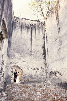 Yucatan Mexico Wedding, wedding at old ruins