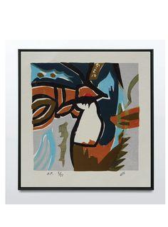 Leung Man Li – Original Limited Edition Lithograph 1983 – Art & Vintage Store Ltd Spanish Artists, French Artists, Sign Printing, Screen Printing, Vintage Prints, Vintage Art, Affordable Art, Limited Edition Prints, Contemporary Artists