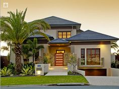 Photo Of A Pavers House Exterior From Real Australian Home   House Facade  Photo 252937 Hip Roof