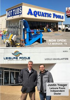 """Leisure Pools is proud to welcome Justin Yeager of Aquatic Pools & Hot Tubs to our dealership family.  With a strong background in retail sales, customer service and installations, we look forward to helping families live their """"life of leisure"""" in southeast Texas.  Visit Justin at aquaticpoolsandhottubs.com."""